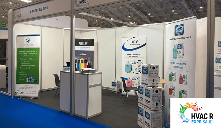 Brothers Gas participated at HVAC R Expo Saudi 2020